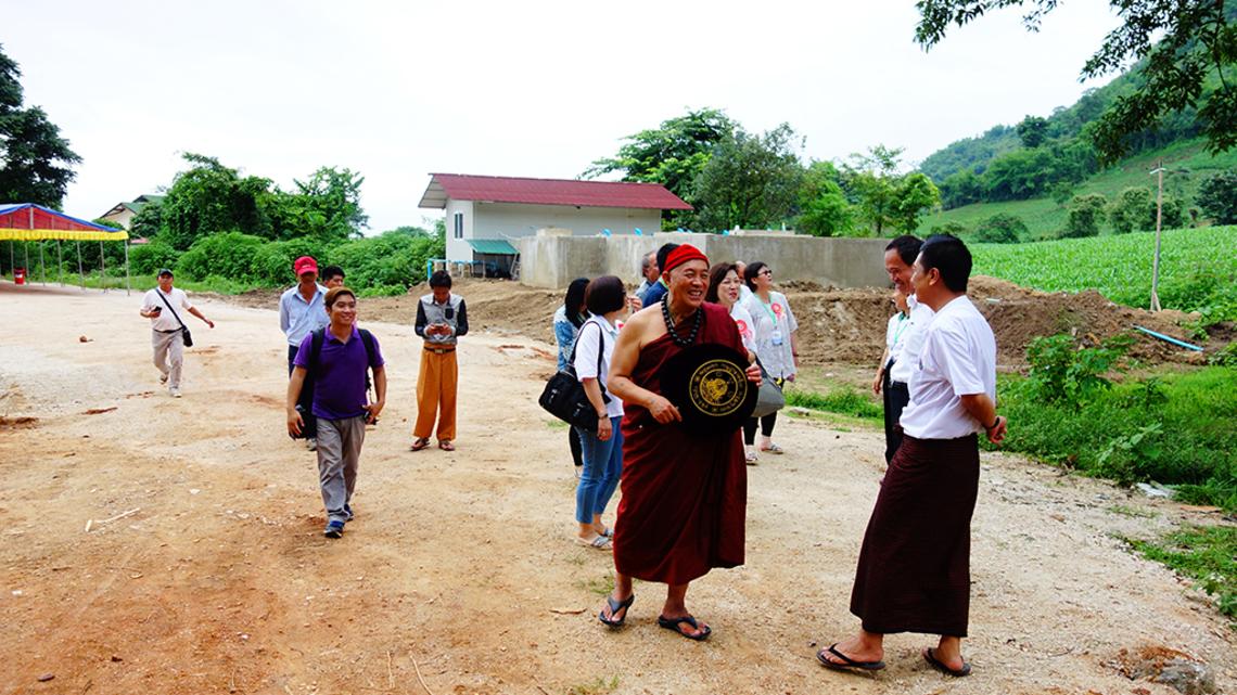 緬甸弄曼佛教城計畫啟動