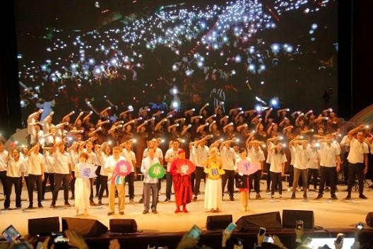 靈鷲山教團於高雄和台北舉行兩場生命和平音樂會,正式向台灣宣告籌建生命和平大學