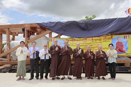 緬甸勃固恭迎和平大佛安座法會